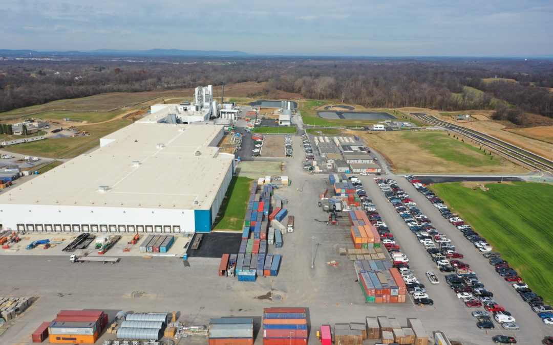 Rockwool Insulation Manufacturing Plant
